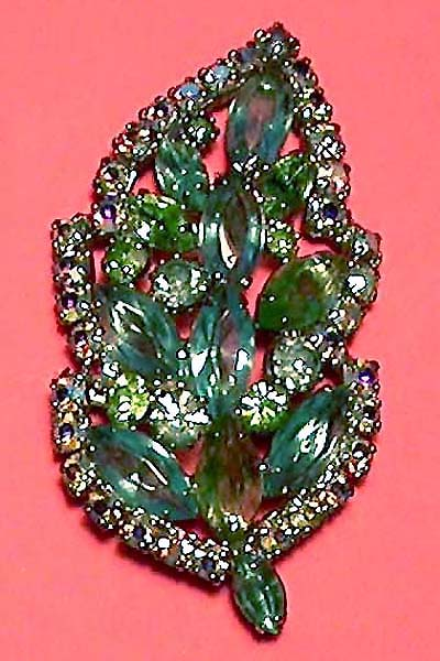 16403e2a244 VINTAGE COSTUME ANTIQUE ESTATE JEWELRY BROOCHES AND PINS! Weiss Blue ...